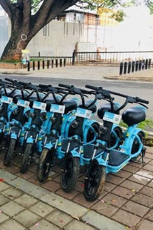 Delhi Metro Electric Bikes Delhi Metro EBike Service Last Mile Connectivity DMRC EBikes DMRC F