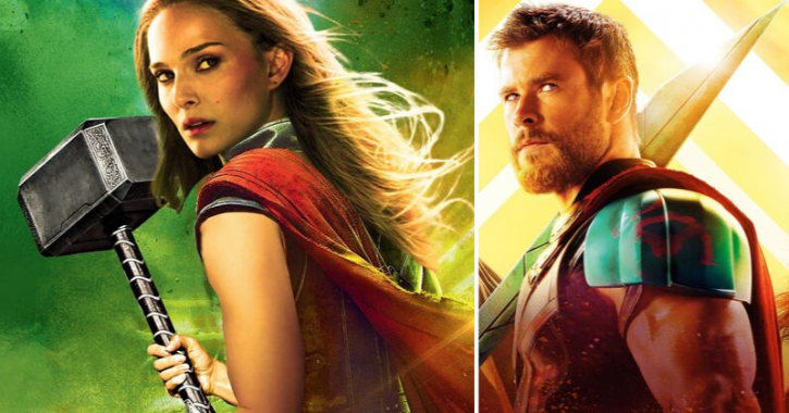 Despite Natalie Portman's Female Thor, Chris Hemsworth Remains To Be The Star Of Thor Franchise