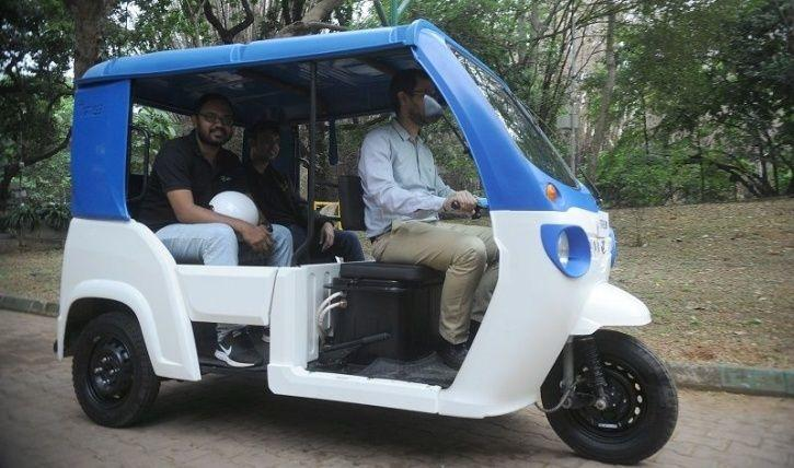 Electric Auto Rickshaw, Electric Auto Rickshaw New Colour, Electric Auto, Green Number Plate, E-Rick