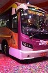 Electric Bus India First Inter City Electric Bus Maharashtra Electric Buses Electric Vehicles Ind