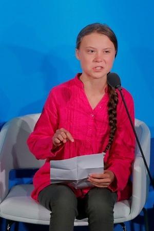 Greta Thunberg UN Speech Greta Thunberg Electric Car Arnold Schwarzenegger Electric Car Climate C