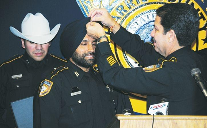 Indian-American Sikh Police Officer