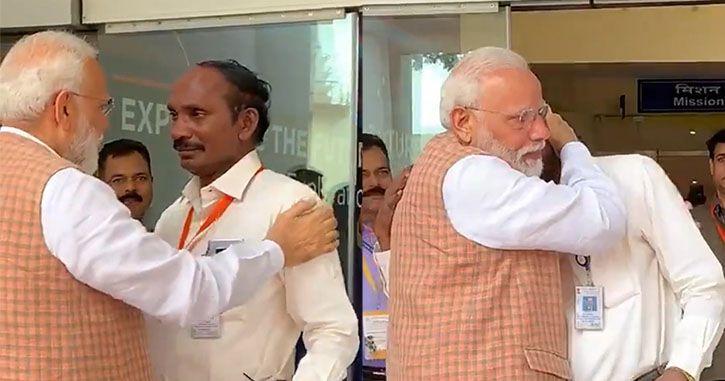 ISRO Chief K Sivan PM Narendra Modi