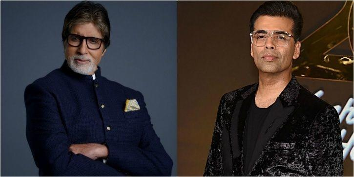 Karan johar and KBC