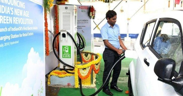 NTPC Charging Station, Greater Noida Charging Station, EV Charging Station, Electric Vehicle Chargin
