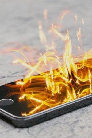 Phone Battery Exploding
