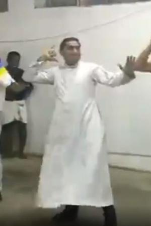 Priest Dancing