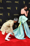 Queer Eyes Jonathan Van Ness Left Everyone Stunned With His Beautiful Gown At Emmys Red Carpet