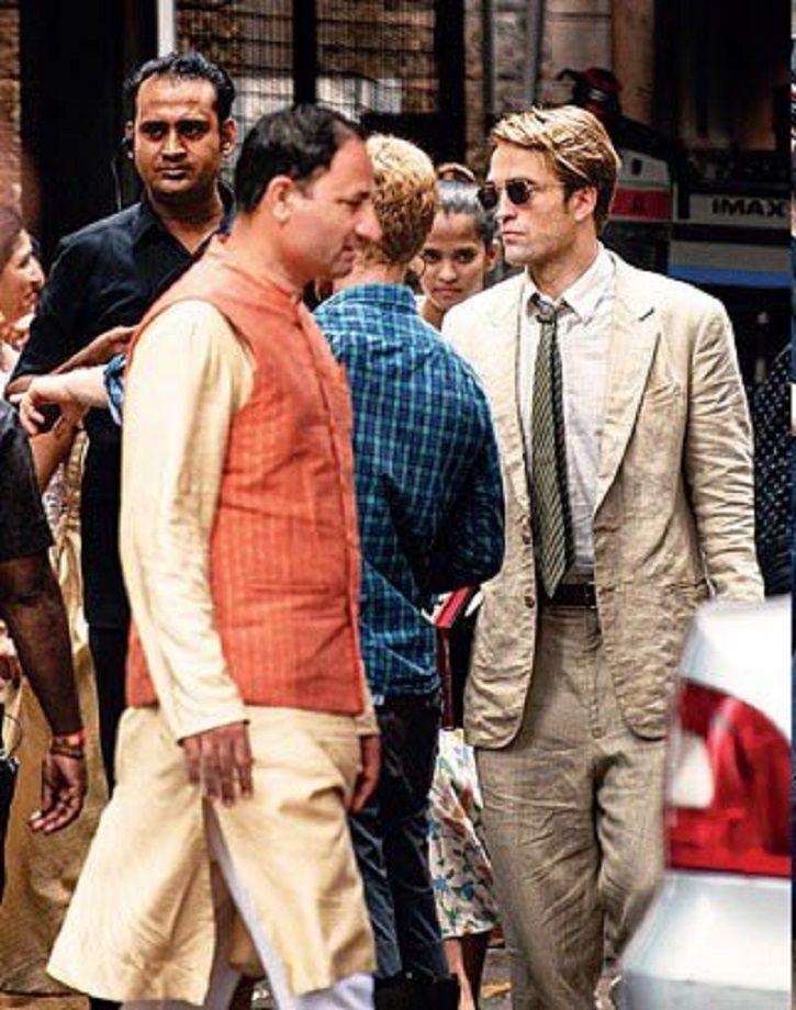 robert pattinson in Mumbai.