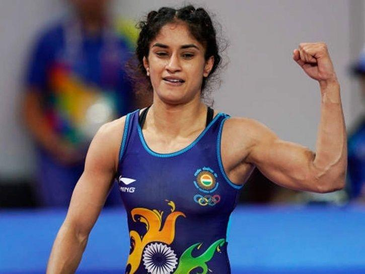 Vinesh Phogat is in the quarters