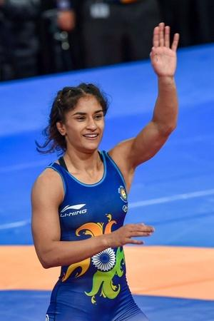 Vinesh Phogat won bronze