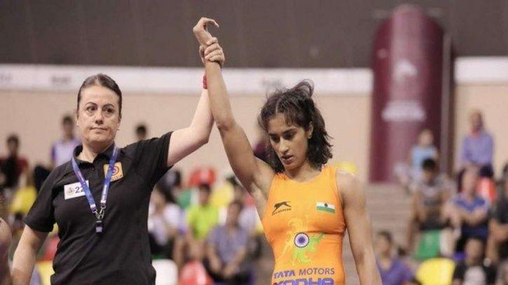Vinesh Phogat won bronze