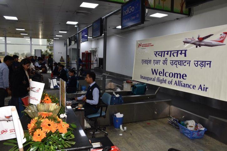 Vinod Chandrashekar Raipur Airport