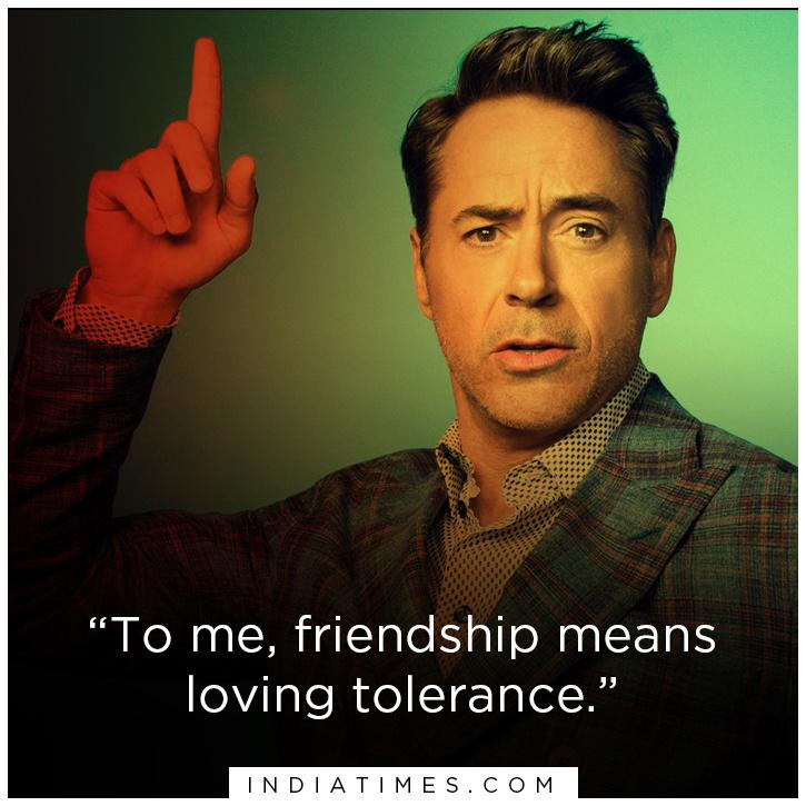 Robert Downey Jr quotes that are life lessons.