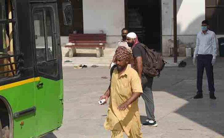 Around 210 People Stranded At A Delhi Gurdwara Being Shifted