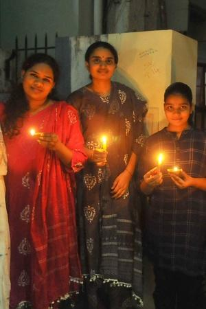 India Lights Up Amidst The Darkness Of A Global Crisis