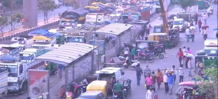 Azadpur Mandi, Azadpur Wholesale Market, COVID-19, Delhi COVID-19, Delhi Lockdown