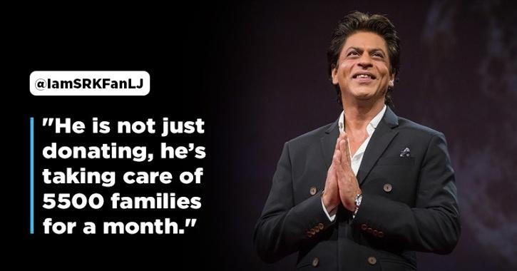 Fans Laud Shah Rukh Khan As He Announces Donation & Other Key Initiatives To Support COVID-19 Fight