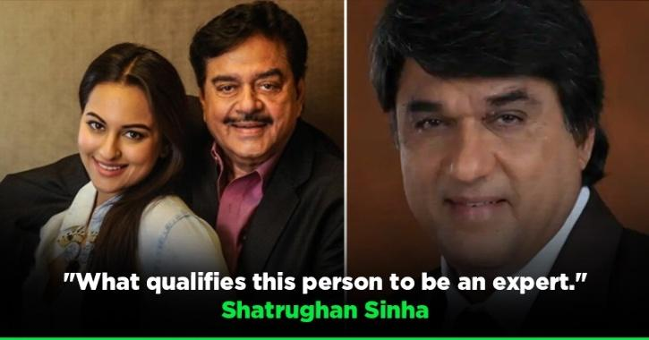 Shatrughan Sinha Lashes Out At
