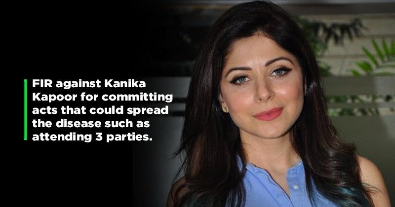 Setting An Example! Kanika Kapoor To Be Interrogated By Lucknow Police For Endangering Lives
