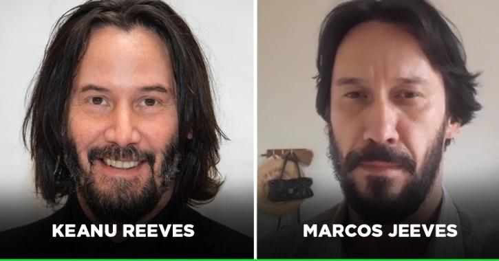 Keanu Reeves Has A Doppelganger On TikTok & He Says The Resemblance Helps Him Flirt With Women