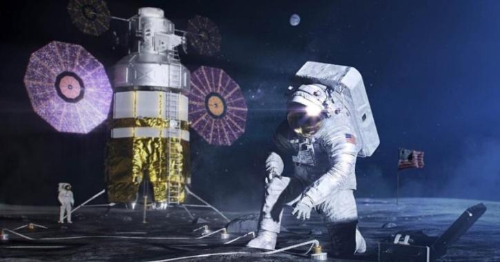 NASA Lunar Manned Mission