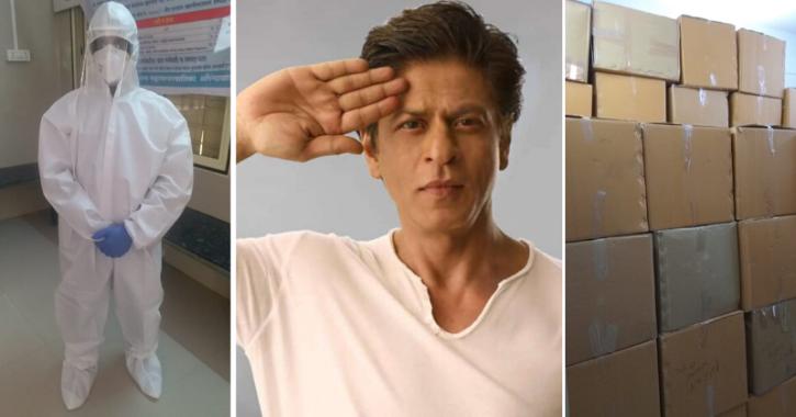 Shah Rukh Khan sends PPE kits for Aurangabad doctors after Sacred Games actress Rajshri Deshpande