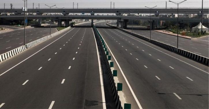 india lockdown less traffic