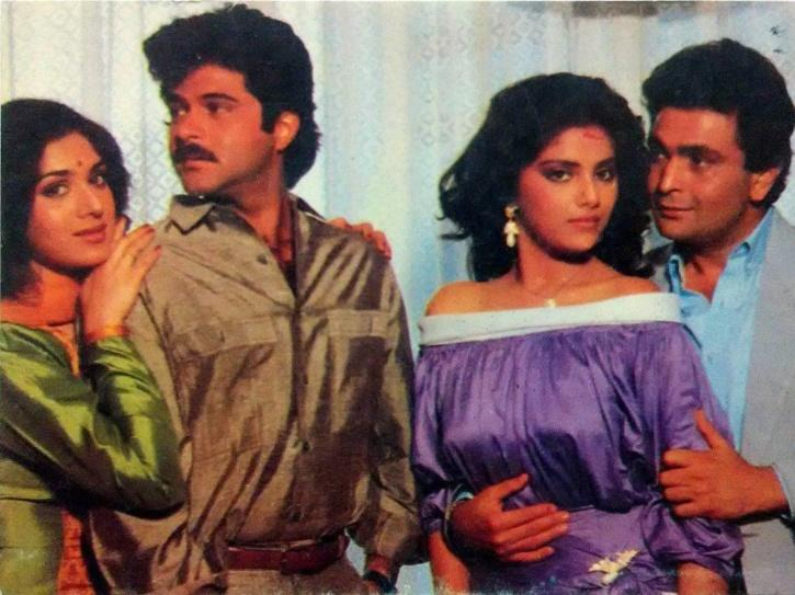 Rishi Kapoor and Anil Kapoor.