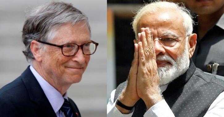 Bill Gates Writes To PM Modi