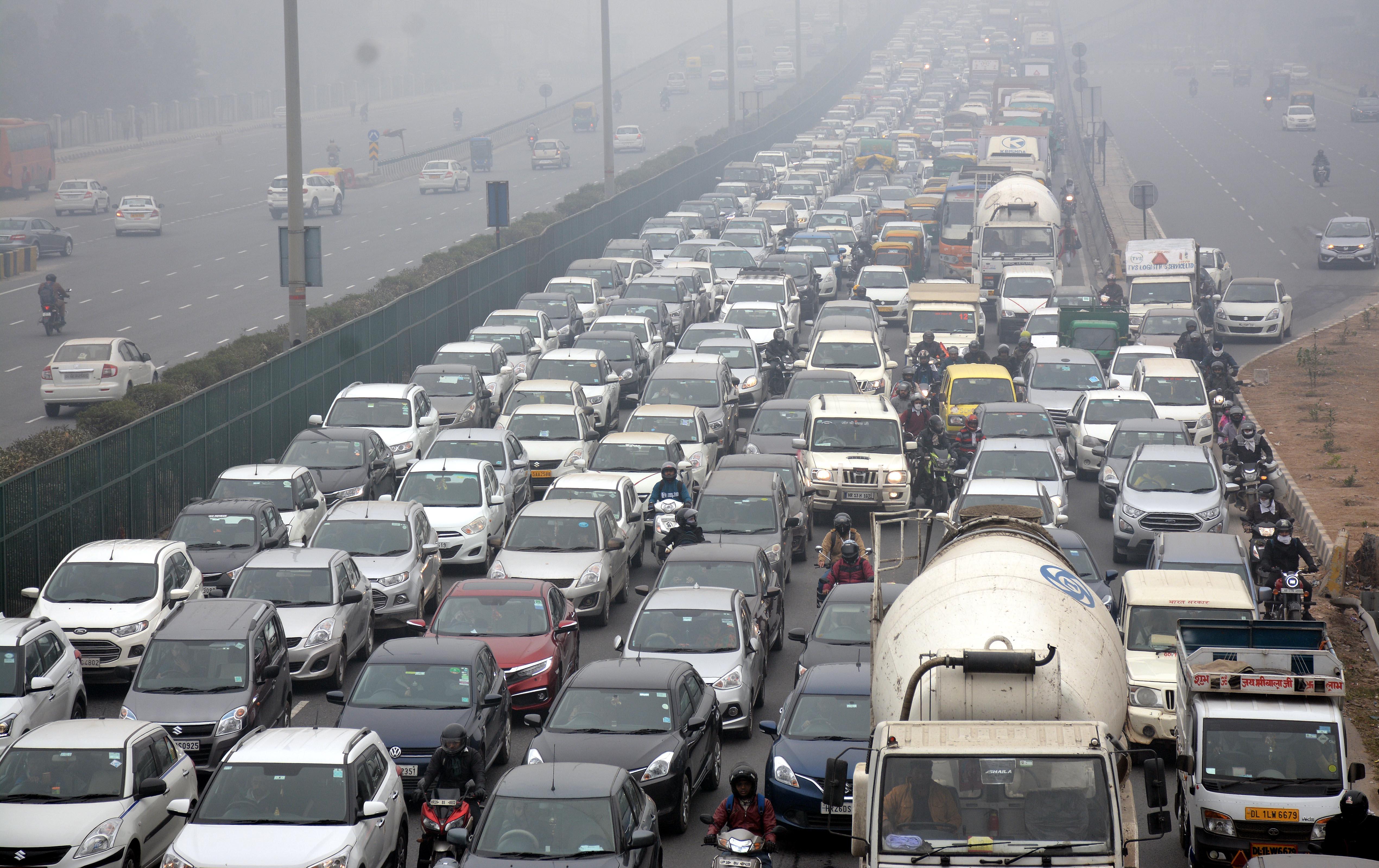 Delhi Gurgaon Highway