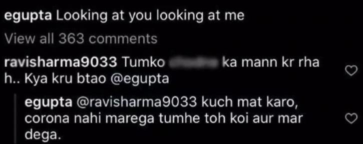 Esha Gupta trolled