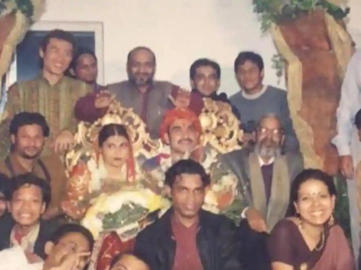 Pankaj Tripathi wedding pic