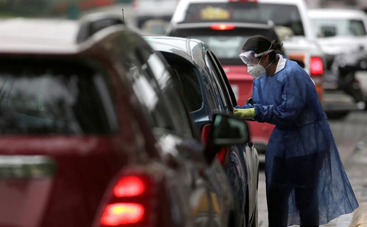Drive-Through Coronavirus Testing Facility Launched In Gurugram