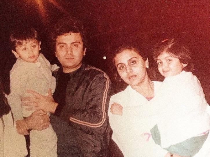 Rishi Kapoor daughter Riddhima Kapoor.