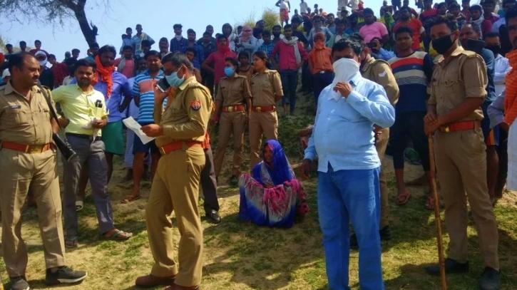 Uttar pradesh mother drowns children