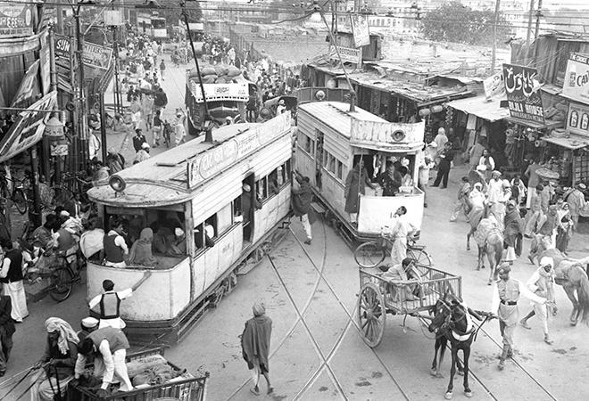 Chandni Chowk area in Old Delhi during 1950s'-2020