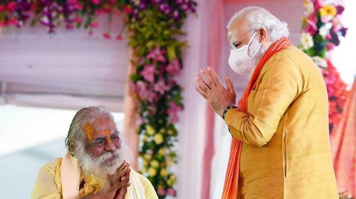 Modi Will Be At I-Day Programs Even As Ram Temple Trust Chief Who Shared Stage With PM Tests Positive For COVID