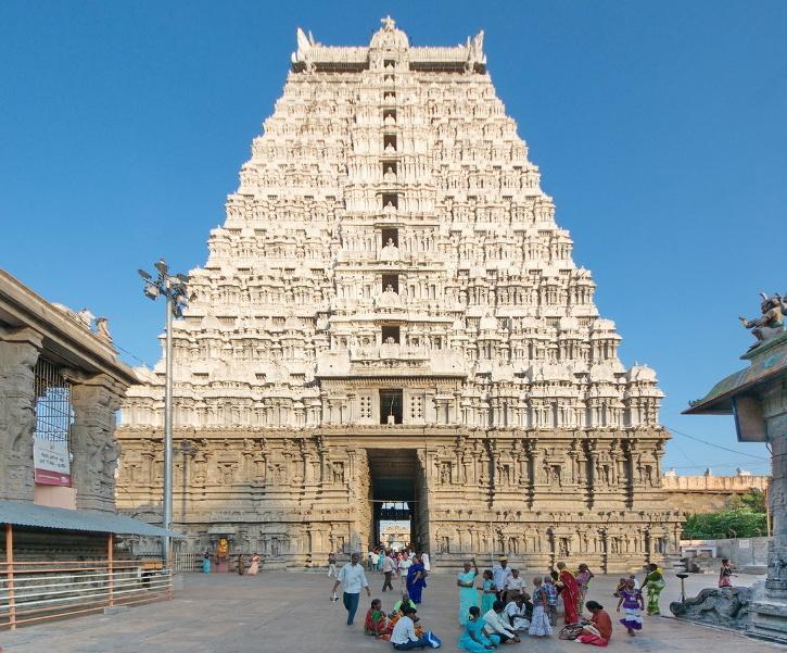 Tiruvannamalai, Tamil Nadu, Tiruvannamalai Tamil Nadu, Tiruvannamalai in Temple, Tamil Nadu, US Woman
