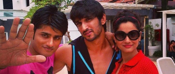 Sandeep Ssingh with Sushant Singh Rajput and Ankita Lokhande