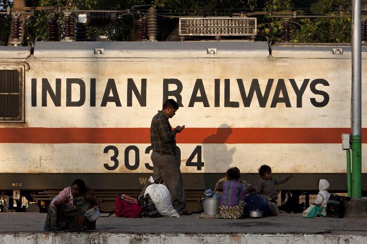 Indian railways freight trains