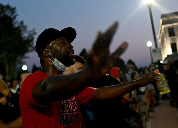 Jacob Blake, Jacob Blake Shooting, Trayford Pellerin, Trayford Pellerin Shooting, George Floyd, Black Lives Matter, BLM Protest