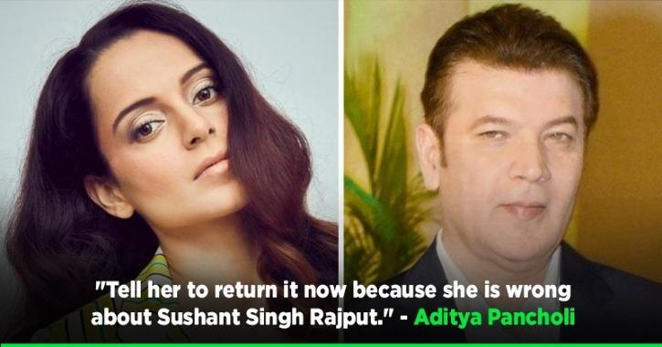 Aditya Pancholi Says Kangana Should Return Her Padma Shri As She Is Wrong About Sushant Theory