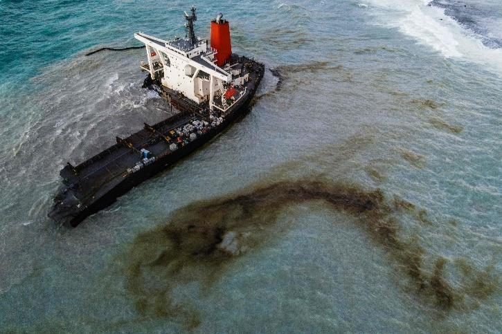 MV Wakashio, MV Wakashio Mauritius, Mauritius Ship, Mauritius Oil Leak,  MV Wakashio Mauritius Crash
