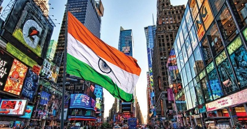 For The First Time Ever, Indian Tricolour To Be Hoisted At New York's Times Square On Aug 15