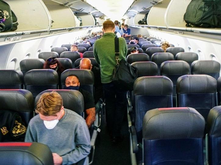 covid-19 flight contamination risk