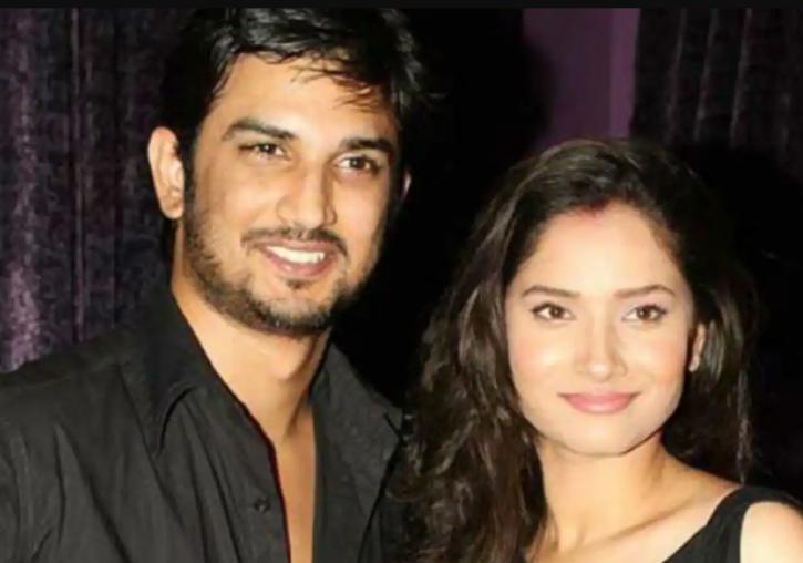 Ankita Lokhande and Sushant Singh Rajput.