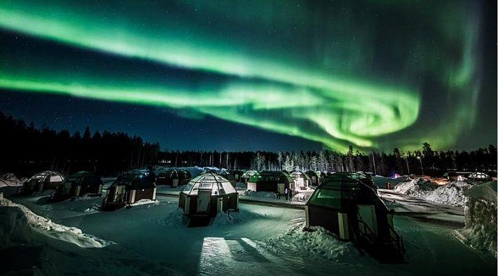aurora lights and airglow nasa