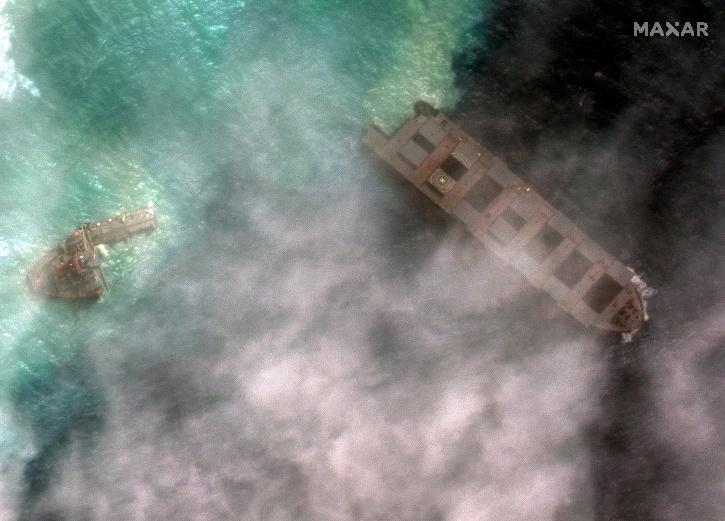 Mauritius, Mauritius Ship, Mauritius Oil Leak, Japanese ship, Sunil Kumar Nandeshwar,  MV Wakashio