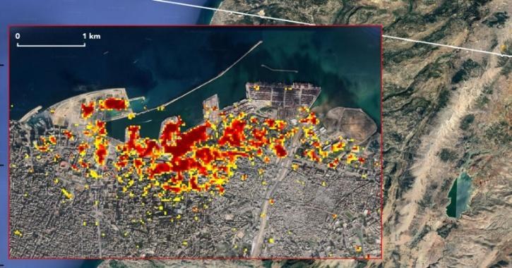 Beirut, NASA, Beirut Explosion, NASA Heat Map, NASA JPL, Technology News